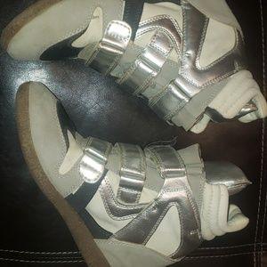 JustFab Kris Wedge Sneaker